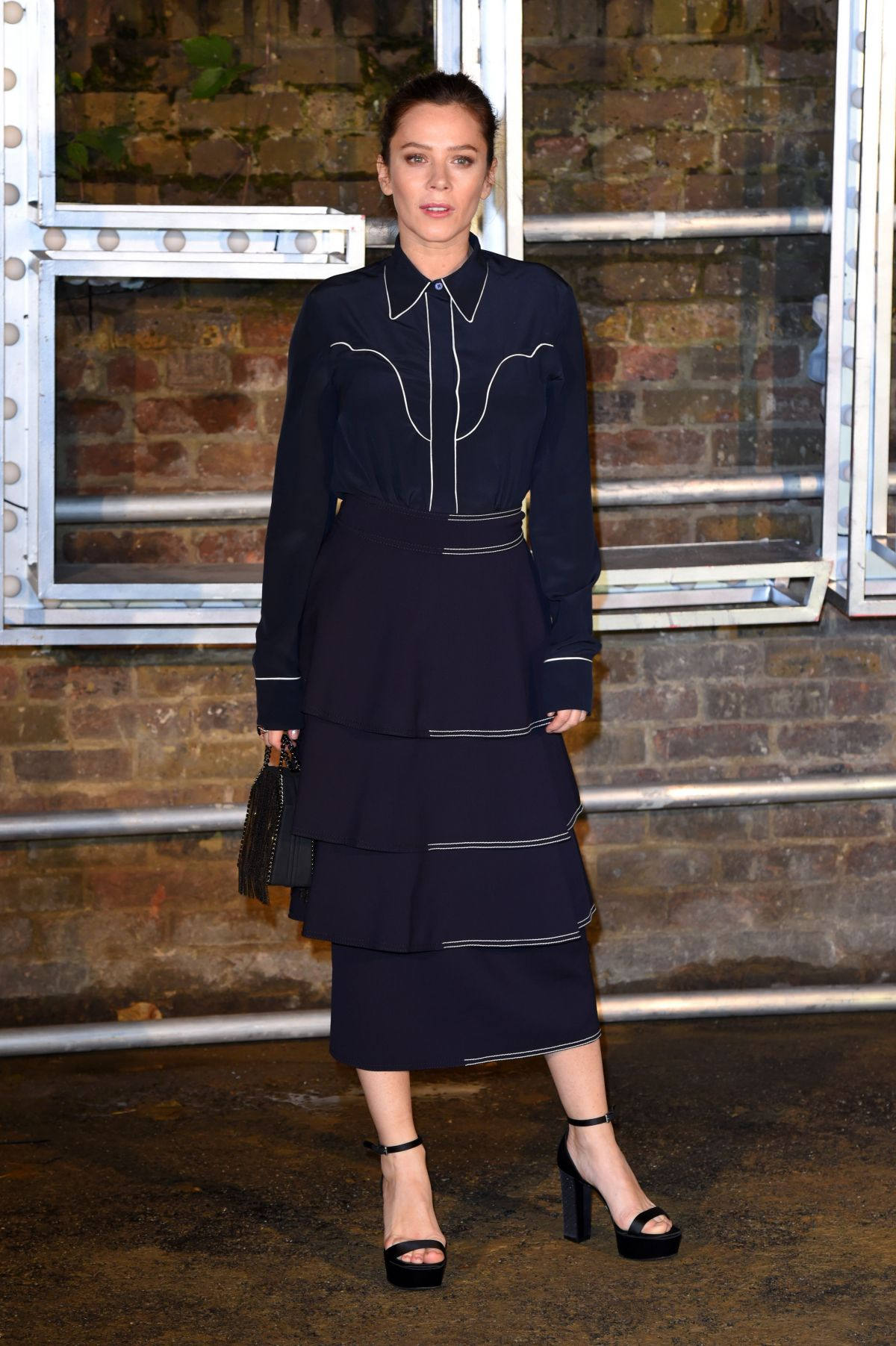 ANNA FRIEL at Stella McCartney Resort and Menswear Collections Launch in London 11/10/2016
