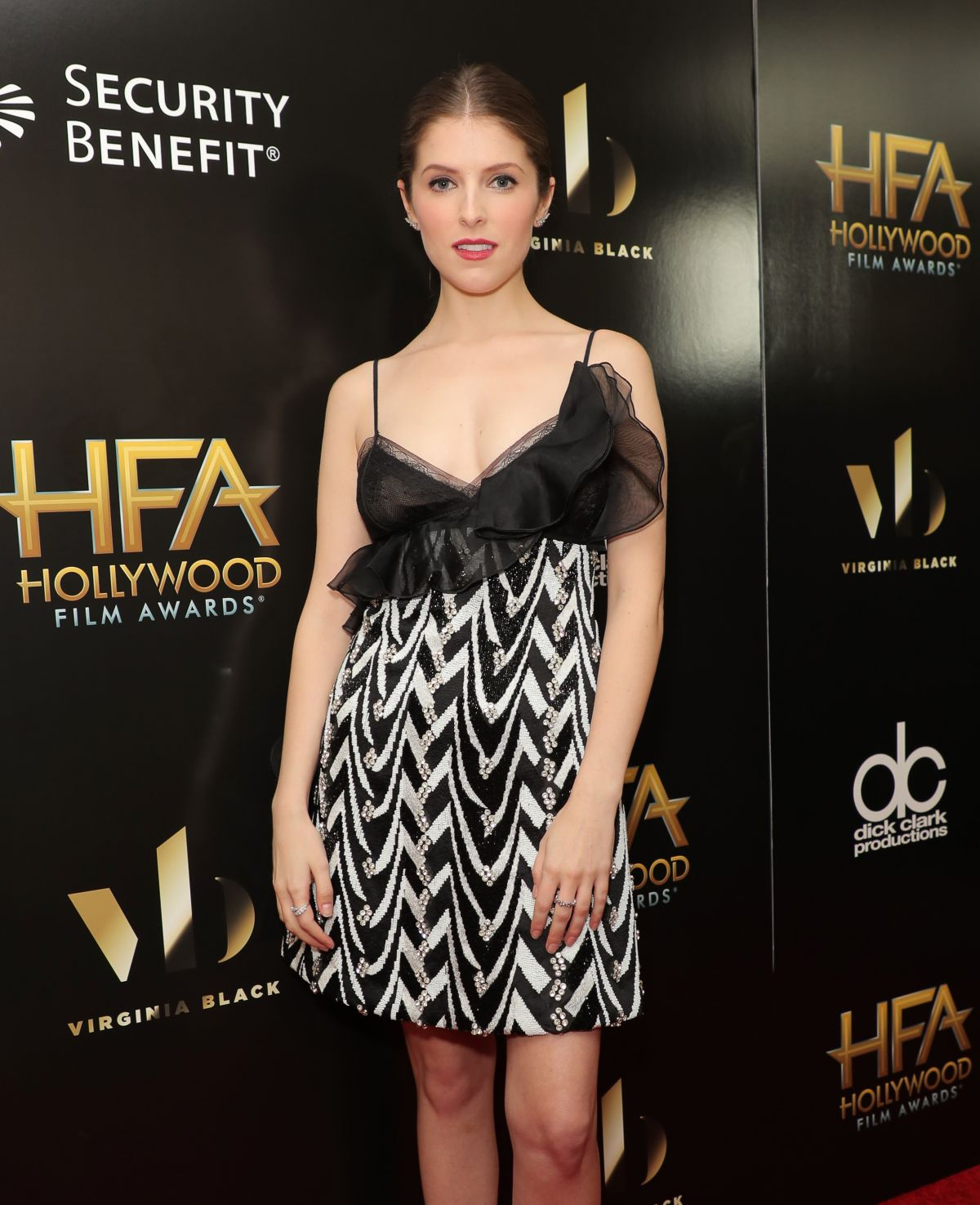 Anna Kendrick At 20th Annual Hollywood Film Awards In