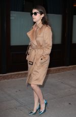 ANNA KENDRICK Out and About in New York 11/14/2016