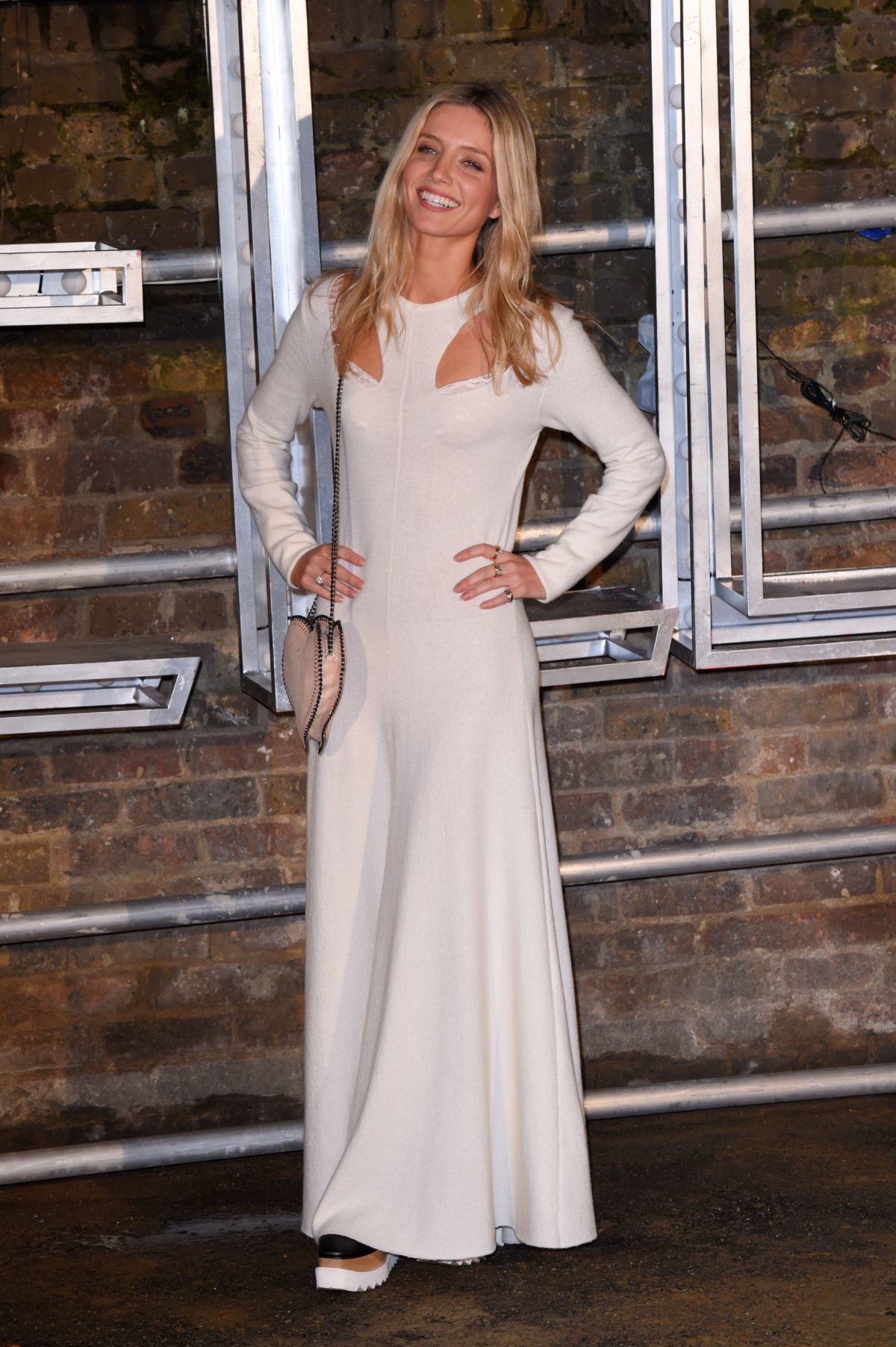 ANNABELLE WALLIS at Stella McCartney Resort and Menswear Collections Launch in London 11/10/2016