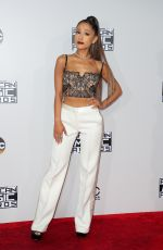 ARIANA GRANDE at 2016 American Music Awards at The Microsoft Theater in Los Angeles 11/20/2016