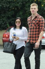 ARIEL WINTER and Levi Meaden Out in Los Angeles 11/26/2016