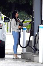 ARIEL WINTER at a Gas Station in Studio City 11/04/2016
