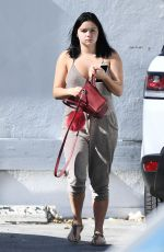 ARIEL WINTER in Jumpsuit Arrives at a Studio in Los Angeles 11/07/2016