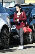 ARIEL WINTER Leaves a Gym in Los Angeles 11/04/2016