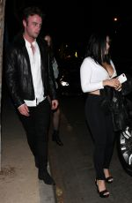 ARIEL WINTER Out for Dinner in Los Angeles 11/18/2016