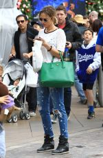 ARIELLE KEBBEL Out Shopping at The Grove in Los Angeles 11/19/2016