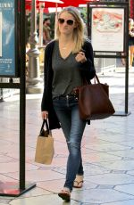 ASHLEY HINSHAW Shopping at The Grove in West Hollywood 11/04/2016