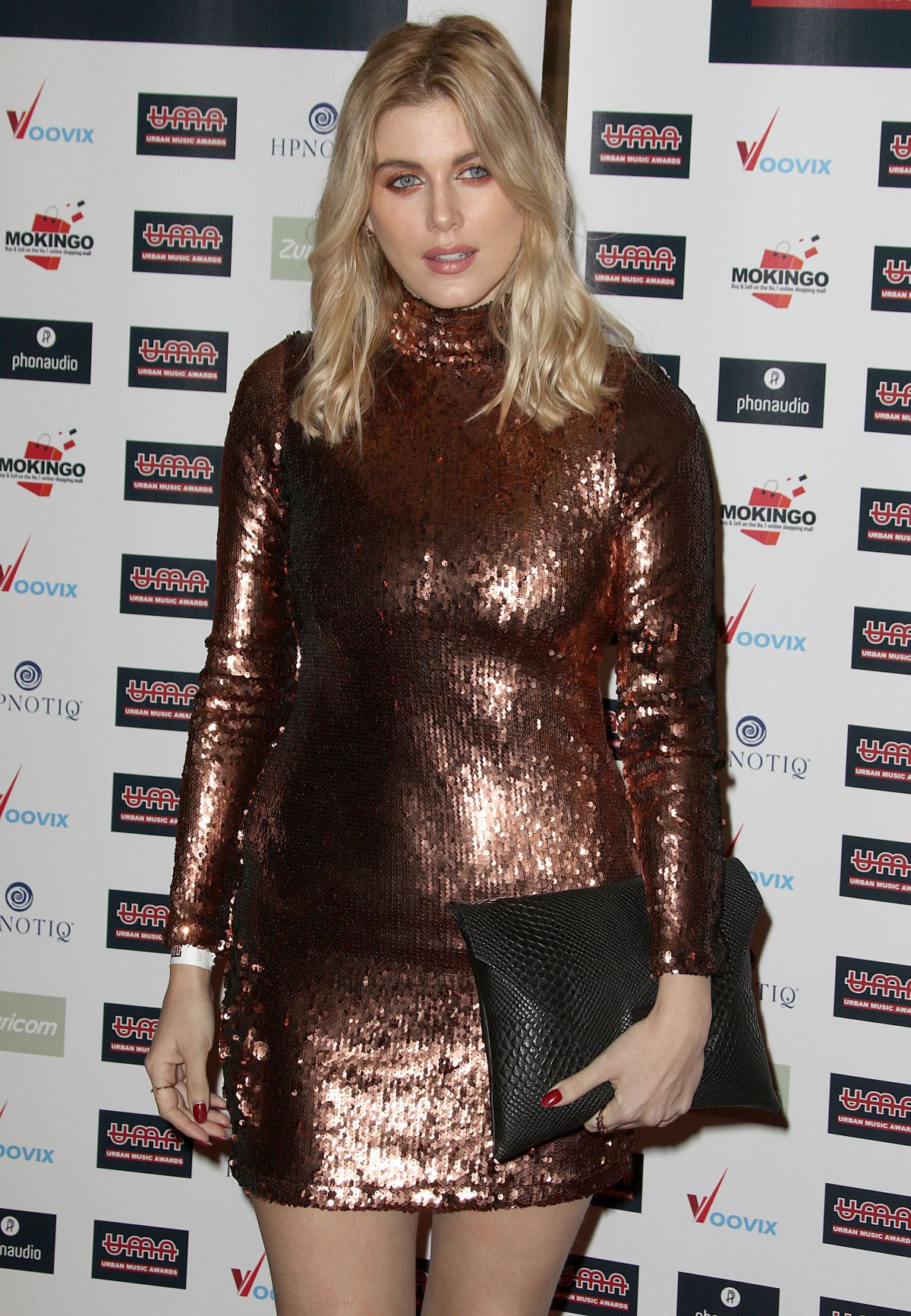 ASHLEY JAMES at Urban Music Awards 2016 in London 11/26/2016