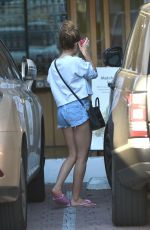 ASHLEY TISDALE in Cut Off at ea Skin Clinic in Los Angeles 11/10/2016