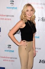 AUDREY WHITBY at TMA Heller Awards in Beverly Hills 11/10/2016