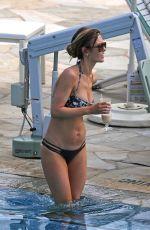 AUDRINA PATRIDGE in Bikini at a Pool in Hawaii 11/08/2016