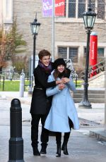 BAILEE MADISON and Her Boyfriend out Toronto 11/27/2016
