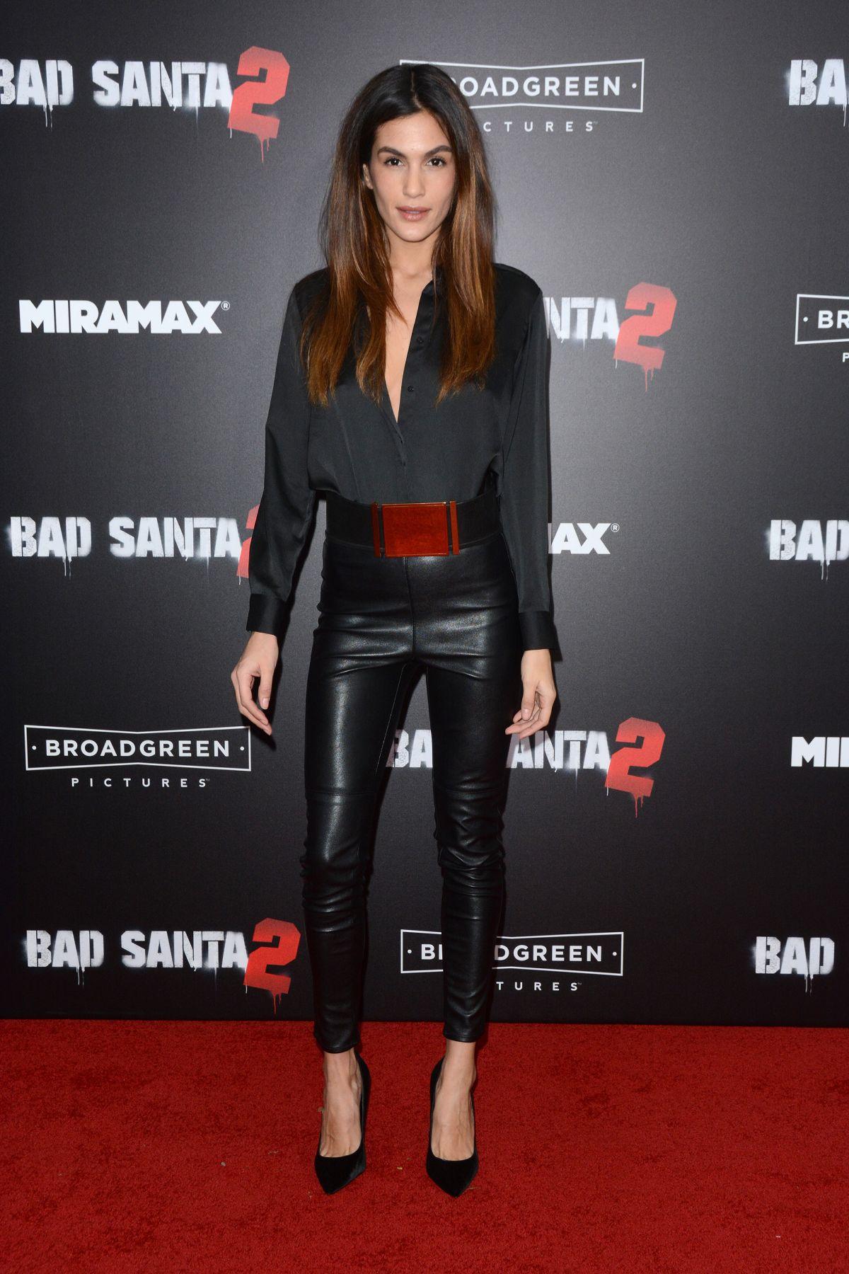 BARBARA NOGUEIRA at 'Bad Santa 2' Premiere in New York 11/15/2016