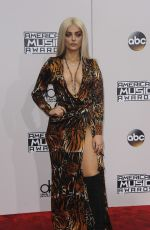 BEBE REXHA at 2016 American Music Awards at The Microsoft Theater in Los Angeles 11/20/2016