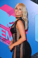 BEBE REXHA at MTV Europe Music Awards 2016 in Rotterdam 11/06/2016