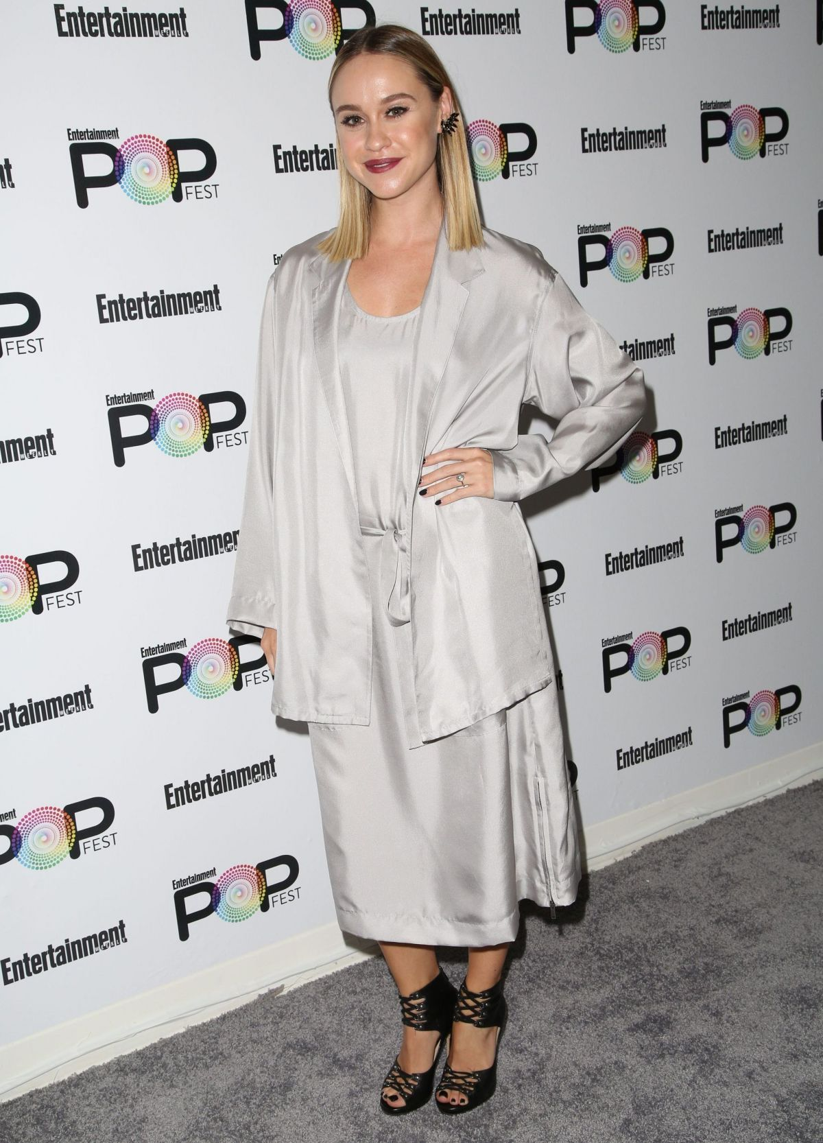 BECCA TOBIN at Entertainment Weekly Popfest in Los Angeles 10/29/2016