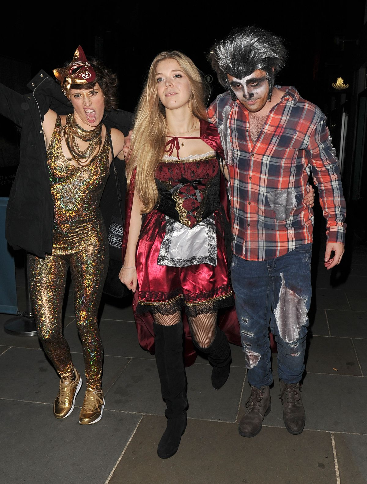 BECKY HILL at M Restaurant Halloween Fete Party 10/29/2016 ...