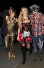 BECKY HILL at M Restaurant Halloween Fete Party 10/29/2016