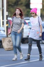 BELLA and DANI THORNE at Mercado Sagrado Arts festival in Sherman Oaks 11/06/2016