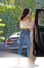 BELLA HADID Arrives at a Hotel in Beverly Hills 11/07/2016