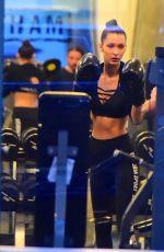BELLA HADID at Gotham Gym in New York 11/16/2016