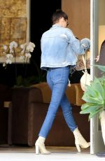 BELLA HADID in Jeans Out in Beverly Hills 11/08/2016