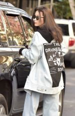 BELLA HADID Out and about in New York 11/17/2016