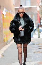 BELLA HADID Out and About in New York 11/20/2016