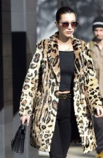 BELLA HADID Out in New York 11/18/2016