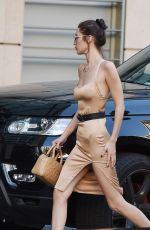 BELLA HADID Out Shopping in Los Angeles 11/10/2016