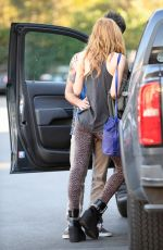 BELLA THORNE amd Tyler Posey Out in Encino 11/03/2016