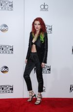 BELLA THORNE at 2016 American Music Awards at The Microsoft Theater in Los Angeles 11/20/2016