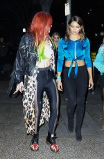 BELLA THORNE Night Out in Los Angeles 11/19/2016