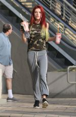BELLA THORNE Out Hollywood 11/15/2016