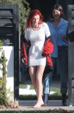 BELLA THORNE Out in Los Angeles 11/19/2016