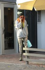 BELLA THORNE Shopping at Kate Somerville in West Hollywood 11/23/2016