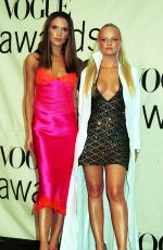 Best from the Past - VICTORIA BECKHAM and EMMA BUNTON at VH1 Vogue Fashion Awards, 10/20/2000