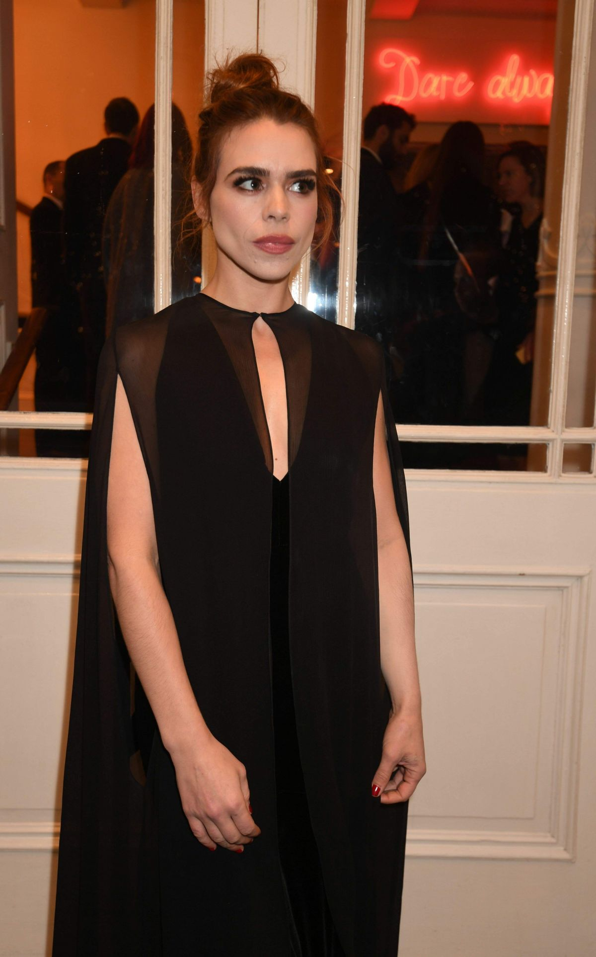 BILLIE PIPER at Evening Standard Theatre Awards in London 11/13/2016