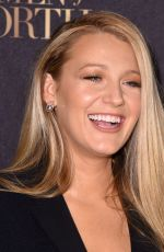 BLAKE LIVELY at L'Oreal Paris Women of Worth Celebration in New York 11/16/2016