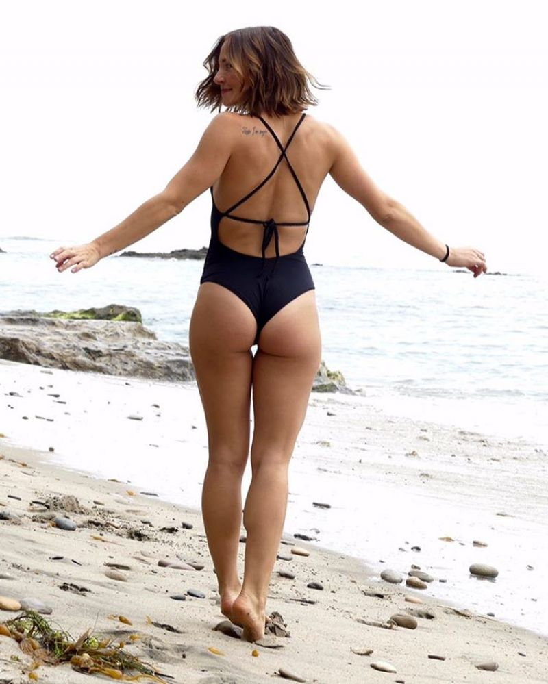 BRIANA EVIGAN in Swimsuit at a Beach, Instagram Picture 11/08/2016