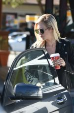 BRITTANY SNOW Out for Coffee in Los Angeles 11/11/2016