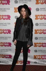 BROOKE VINCENT at Christmas Lights Switch On in Manchester 11/04/2016