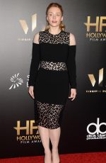 BRYCE DALLAS HOWARD at 20th Annual Hollywood Film Awards in Beverly Hills 11/06/2016