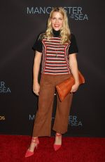 BUSY PHILIPPS at 'Manchester by the Sea' Premiere in Los Angeles 11/14/2016