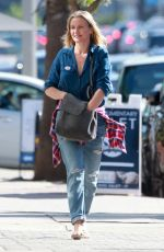 CAMERON DIAZ Out for Breakfast After Voting in Studio City 11/08/2016