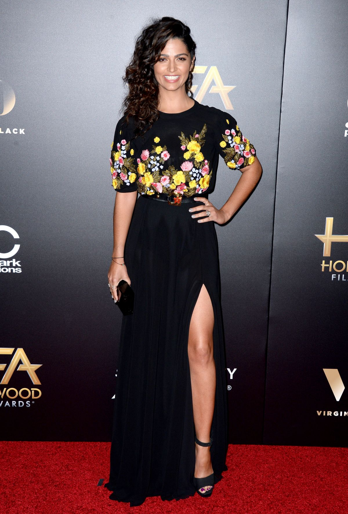 CAMILA ALVES at 20th Annual Hollywood Film Awards in Beverly Hills 11/06/2016