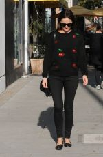 CAMILLA BELLE at M Cafe in Beverly Hills 11/23/2016