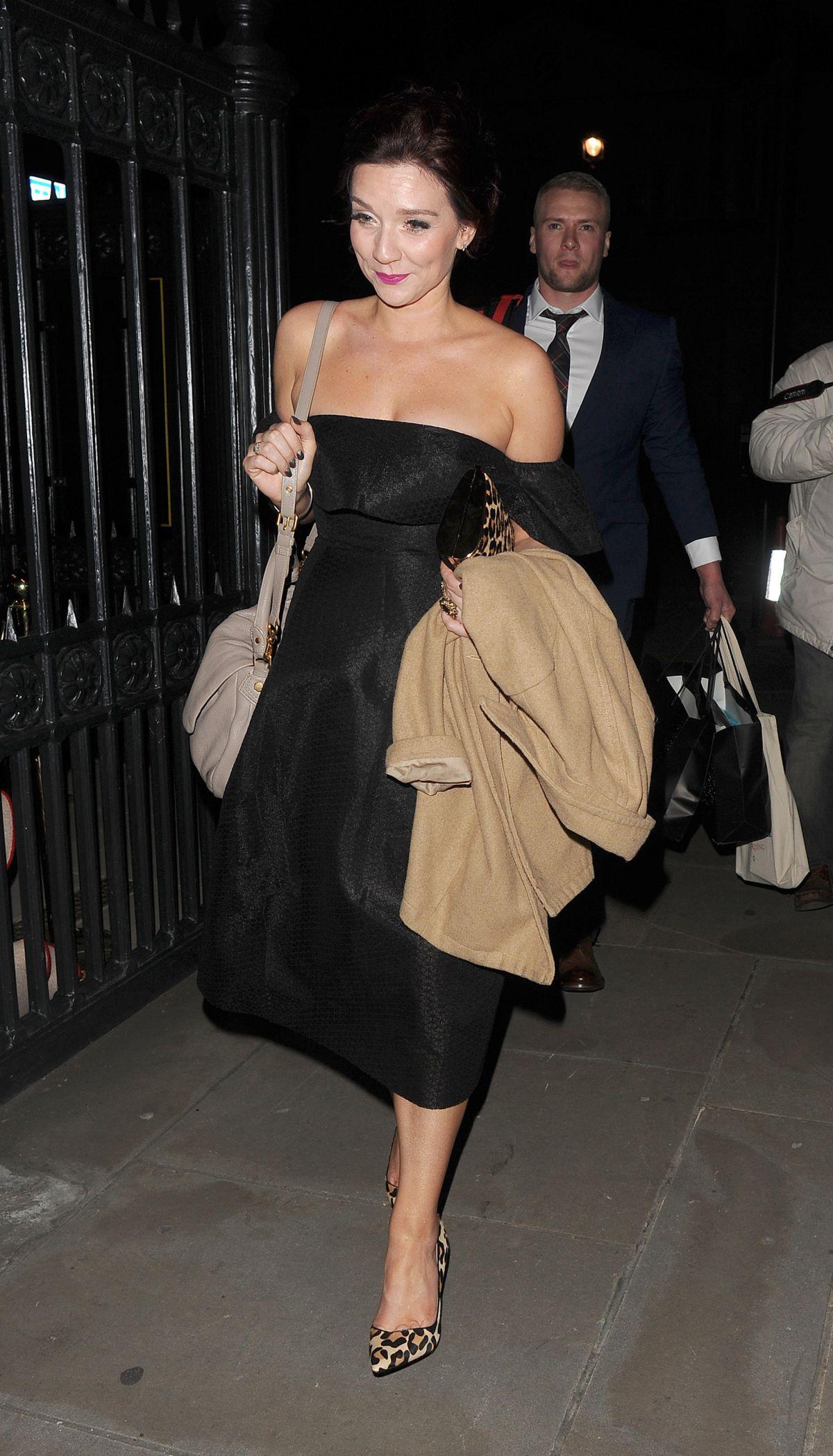 Demi Rose Leaves the Beauty Awards in London - Celebzz