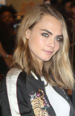 CARA DELEVINGNE at H&M Store Opening in New York 11/17/2016